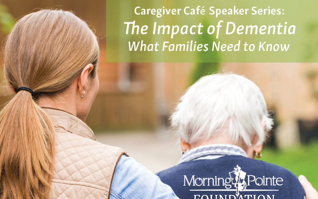 """Morning Pointe Presents """"Impact of Dementia on Patients and Families"""" Featuring Dr. Khodeir May 8"""