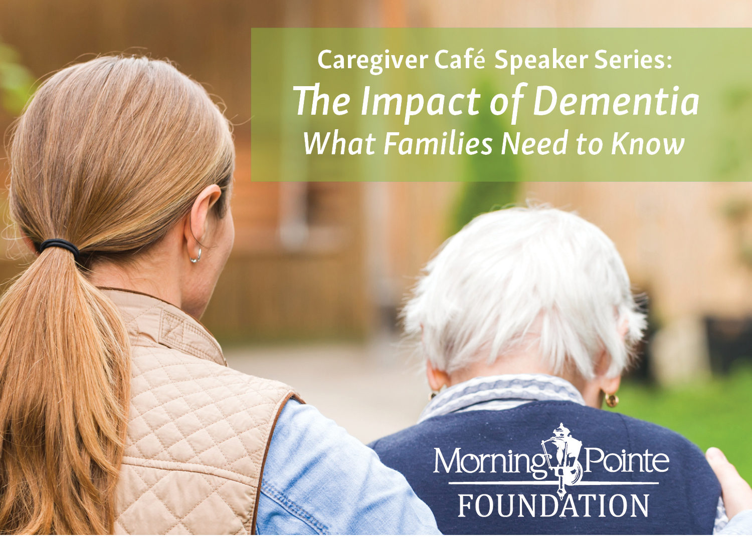 "Morning Pointe Presents ""Impact of Dementia on Patients and Families"" Featuring Dr. Khodeir May 8"