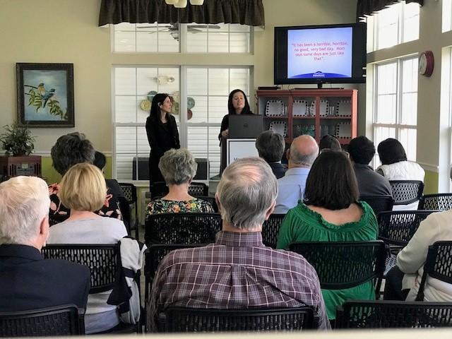 Morning Pointe Foundation, Parkridge Host Caregiver Café on Guilt and Grief