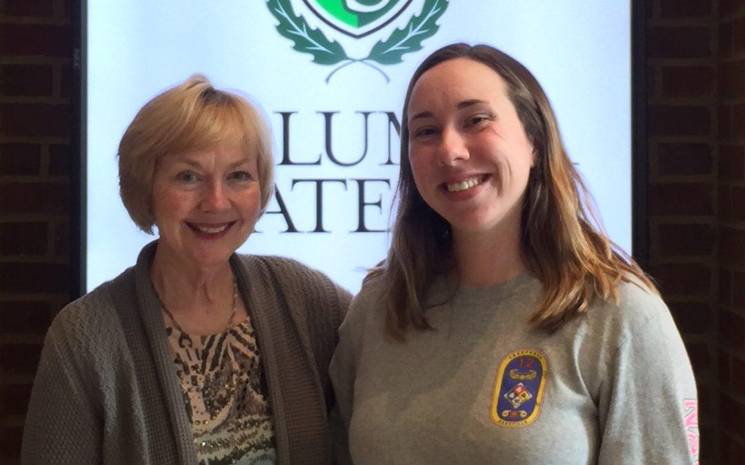 Morning Pointe Foundation Awards Nursing Scholar at Columbia State