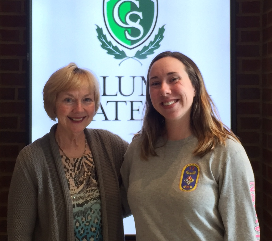 Morning Pointe Foundation Awards Nursing Scholar at Columbia State