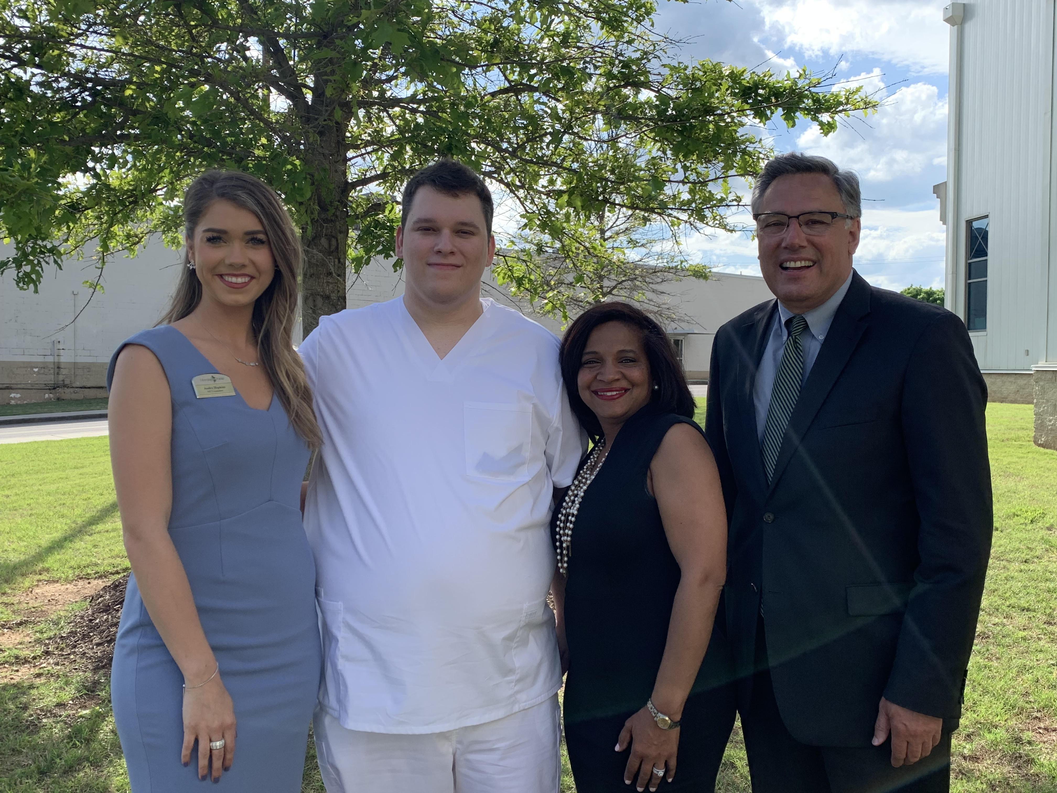 Morning Pointe Foundation Celebrates 2019 Nursing Scholar at Chattanooga State