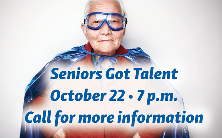 "MORNING POINTE ""SENIORS GOT TALENT""  FINALISTS PREPARE FOR BIG SHOW ON OCTOBER 22"