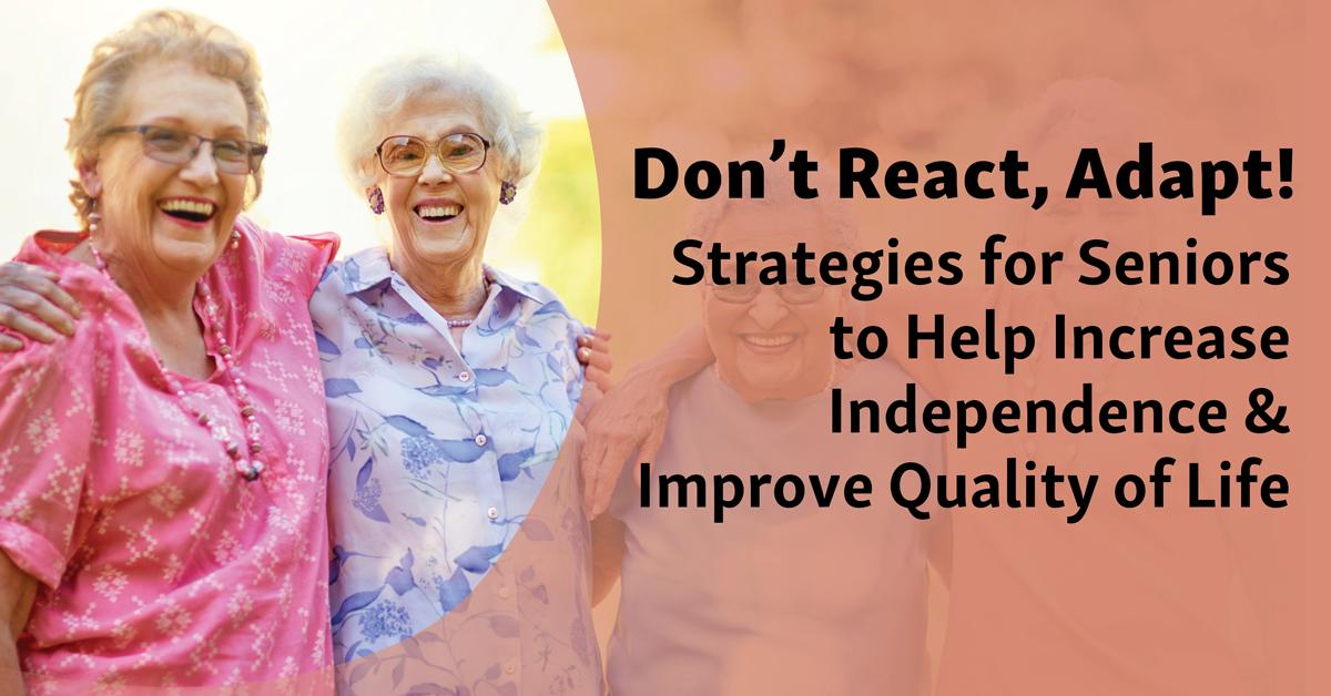 Virtual Caregiver Roundtable: Don't React, Adapt!