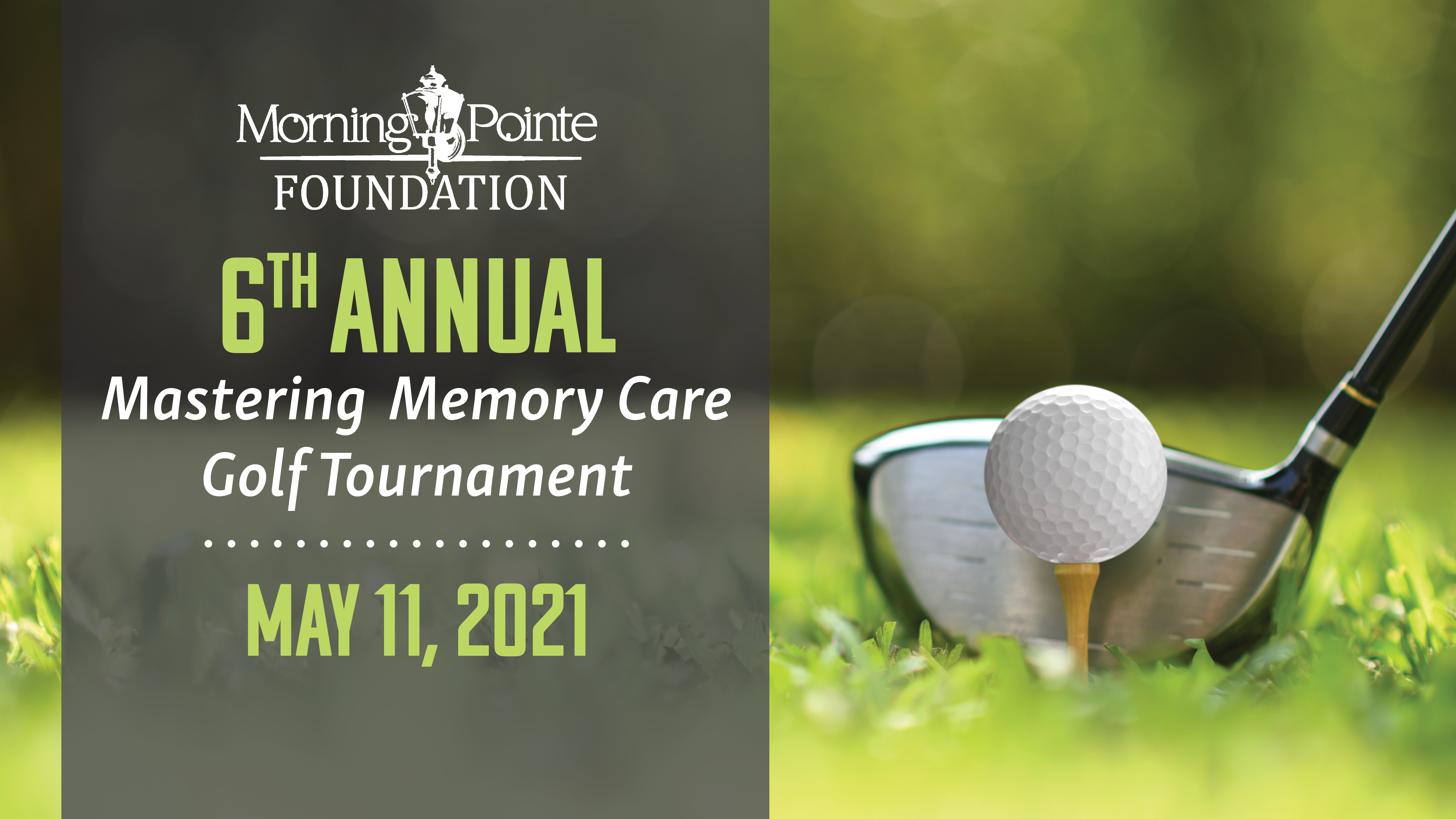 6th Annual Mastering Memory Care Golf Tournament Set For May 11, 2021