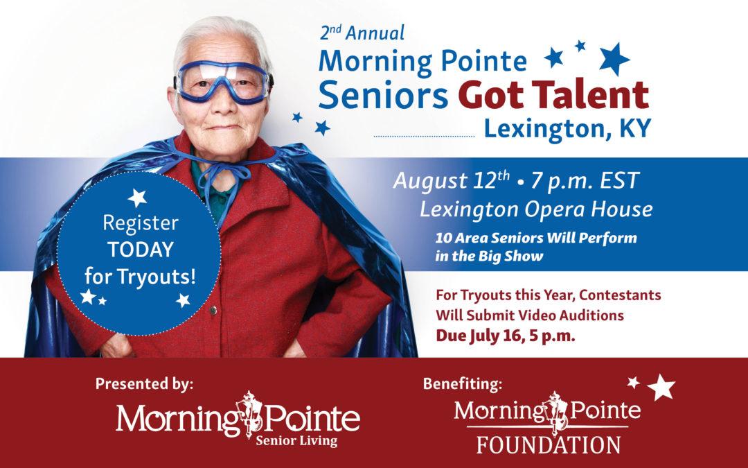 Seniors Got Talent Lexington, KY – Virtual Tryouts